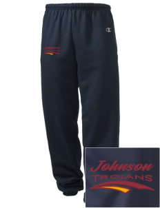 Johnson Elementary School Trojans Embroidered Champion Men's Sweatpants