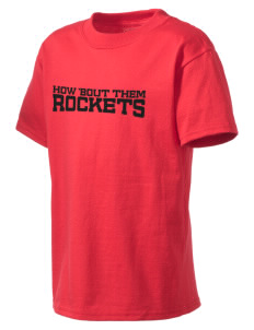 Rineyville Elementary School Rockets Kid's Lightweight T-Shirt
