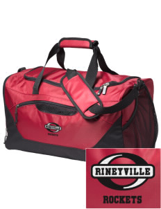 Rineyville Elementary School Rockets Embroidered Holloway Chill Medium Duffel Bag