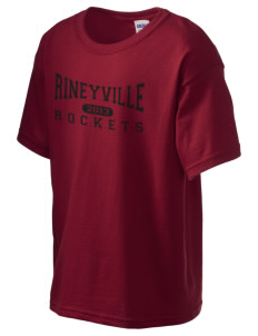 Rineyville Elementary School Rockets Kid's 6.1 oz Ultra Cotton T-Shirt