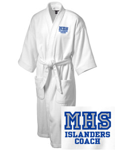 Middletown High School Islanders Embroidered Terry Velour Robe