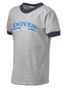 Alternate Learning School Doves Kid's Ringer T-Shirt