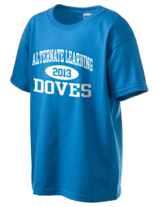 Alternate Learning School Doves Kid's 6.1 oz Ultra Cotton T-Shirt