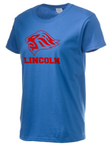 Lincoln High School Lions Women's 6.1 oz Ultra Cotton T-Shirt