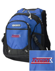 Lincoln High School Lions Embroidered OGIO Fugitive Backpack