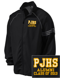 Pendleton Junior High School Bulldogs Embroidered adidas Men's ClimaProof Jacket