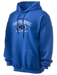 Hampton Street Elementary School Beavers Ultra Blend 50/50 Hooded Sweatshirt