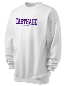 Carthage Elementary School Eagles Men's 7.8 oz Lightweight Crewneck Sweatshirt
