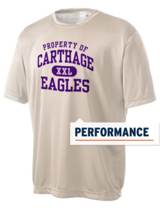 Carthage Elementary School Eagles Men's Competitor Performance T-Shirt
