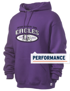 Carthage Elementary School Eagles Russell Men's Dri-Power Hooded Sweatshirt