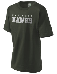 Oakwood High School Hawks Kid's Organic T-Shirt