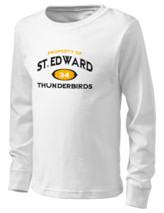 St. Edward Thunderbirds  Kid's Long Sleeve T-Shirt