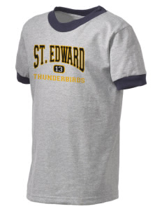 St. Edward Thunderbirds Kid's Ringer T-Shirt