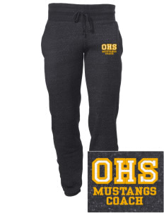 Oologah High School Mustangs Embroidered Alternative Men's 6.4 oz Costanza Gym Pant