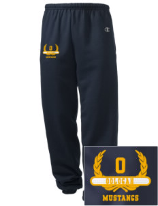 Oologah High School Mustangs Embroidered Champion Men's Sweatpants