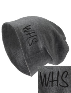 Woodward Senior High School Boomers Embroidered Slouch Beanie