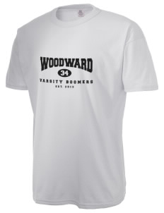 Woodward Senior High School Boomers  Russell Men's NuBlend T-Shirt