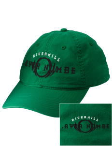 Rivermill Elementary School Cougars Embroidered Vintage Adjustable Cap