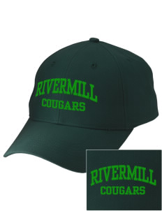 Rivermill Elementary School Cougars Embroidered Low-Profile Cap