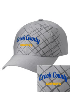 Crook County High School Cowboys Embroidered Mixed Media Cap