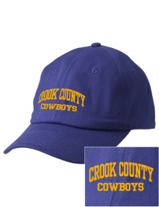 Crook County High School Cowboys Embroidered Champion 6-Panel Cap