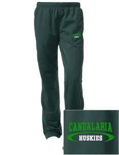Candalaria Elementary School Huskies Embroidered Women's Tricot Track Pants