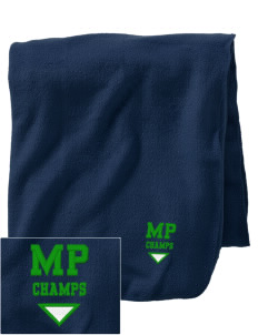 Mill Park Elementary School Champs Embroidered Holloway Stadium Fleece Blanket