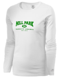 Mill Park Elementary School Champs  Russell Women's Long Sleeve Campus T-Shirt