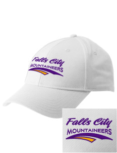 Falls City Elementary School Mountaineers  Embroidered New Era Adjustable Structured Cap