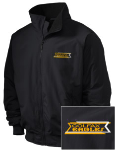 Colfax Elementary School Eagles Embroidered Holloway Men's Tall Jacket