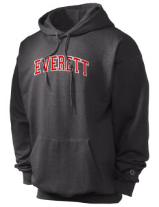 Everett Senior High School Warriors Champion Men's Hooded Sweatshirt