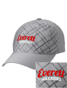 Everett Senior High School Warriors Embroidered Mixed Media Cap