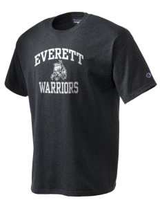 Everett Senior High School Warriors Champion Men's Tagless T-Shirt