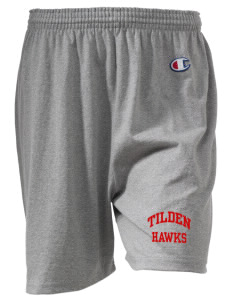 "Tilden Elementary School Hawks  Champion Women's Gym Shorts, 6"" Inseam"