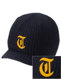 Tulpehocken High School Trojans Embroidered Knit Beanie with Visor
