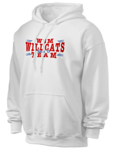Walter S Miller Elementary School Wildcats Ultra Blend 50/50 Hooded Sweatshirt