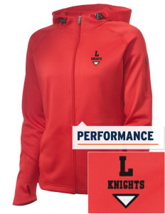 Landisville Intermediate Center Knights Embroidered Women's Tech Fleece Full-Zip Hooded Jacket
