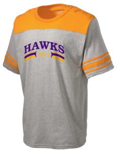 Charles F Patton Middle School Hawks Holloway Men's Champ T-Shirt