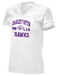 Charles F Patton Middle School Hawks Holloway Women's Fame Replica Jersey