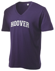 Hoover Elementary School Lions Alternative Men's 3.7 oz Basic V-Neck T-Shirt