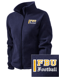 Football University Seattle Football Embroidered Women's Fleece Full-Zip Jacket