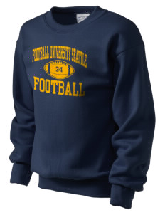 Football University Seattle Football Kid's Crewneck Sweatshirt