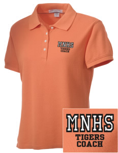 Marple Newtown High School Tigers Embroidered Women's Performance Plus Pique Polo