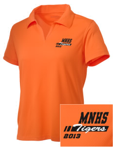 Marple Newtown High School Tigers Embroidered Women's Double Mesh Polo