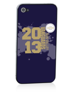 Sun Valley High School Vanguards Apple iPhone 4/4S Skin