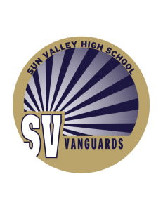 Sun Valley High School Vanguards Sticker