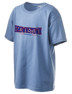 Brownstown Elementary School Buckskins Kid's 6.1 oz Ultra Cotton T-Shirt