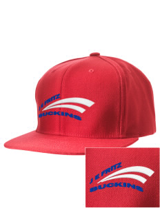 J E Fritz Elementary School Buckins Embroidered D-Series Cap