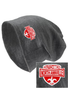 North Annville Elementary School Dutchmen Embroidered Slouch Beanie
