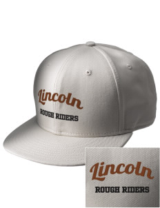 Lincoln Middle School Rough Riders  Embroidered New Era Flat Bill Snapback Cap